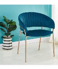 Pulito เก้าอี้ ขนาด 46×55×82cm. SVC-0124 สีน้ำเงิน