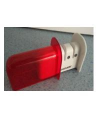- ที่ลับมีด ZDS005-RD ขนาด 6.2 x 11.5 x 7.6 cm สีขาว-แดง สีแดง