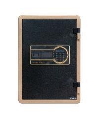 Protx ตู้เซฟดิจิตอลกันไฟ 35x43x50ซม  YB-500ALG สีดำทอง