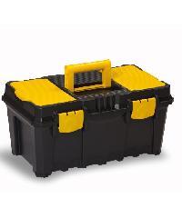 PORT-BAG กล่องเครื่องมือพลาสติก สีเหลือง-ดำ PB รุ่น AP-01 19นิ้ว AP03 สีดำ
