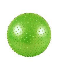 - ลูกบอลโยคะปุ่มนวด ขนาด 55ซม. พร้อมที่สูบลม ARK-MB-55LG สีเขียว