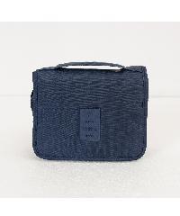 UCHI กระเป๋าจัดเก็บอุปกรณ์อาบน้ำ ขนาด 25x10x20 cm สีน้ำเงินเข้ม ZRH-016-DB  สีน้ำเงิน