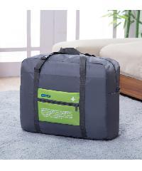 - กระเป๋าอเนกประสงค์แบบสอดได้ ขนาด 48x38x20 cm สีเทา-เขียว  ZRH-024-GN