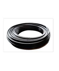 ท่อ LDPE  แรงดัน4 ขนาด 20 มม.200 ม.คาดส้ม (1/2นิ้ว) ดำ