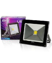 EVE โคมฟลัด LED  อีโคไบรท์ 30W. 220V. วอร์มไวท์.