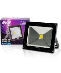 EVE โคมฟลัด LED  อีโคไบรท์ 50W. 220V.วอร์มไวท์.