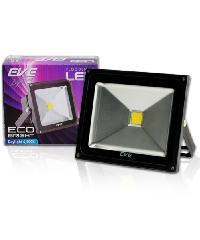 EVE โคมฟลัด LED  อีโคไบรท์ 20W. 220V.วอร์มไวท์.