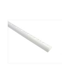 MAC คิ้วกระเบื้อง PVC  SUPER UV (8mm) M20 สีขาว