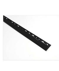 MAC คิ้วกระเบื้อง PVC   SUPER UV (8 mm.) M20 สีดำ