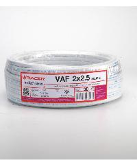 RACER สายไฟ VAF 2 x 2.5 30M ขาว