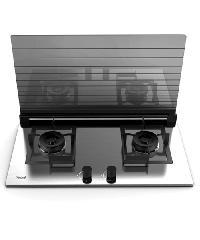 TECNO- เตาแก๊สแบบฝังหน้ากระจกนิรภัย 2 หัวเตา TNP HB 2000 CSS