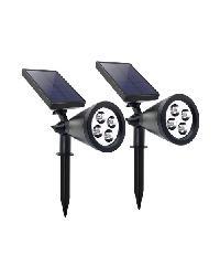 LUXUS โคมไฟสปอตไลท์พลังงานแสงอาทิตย์ปักดิน  P6002 ELON