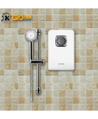 Global house บริการติดตั้งเครื่องทำน้ำอุ่น ขนาด 6,500 วัตต์+ Rain Shower (รวมอุปกรณ์ ยกเว้นเดินระบบท่อประปา)