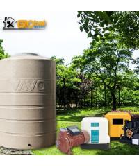Global house บริการติดตั้งปั้มน้ำอัตโนมัติและถังน้ำพร้อมเครื่องกรองน้ำแบบหยาบ (รวมอุปกรณ์  ยกเว้นเดินระบบท่อประปา)