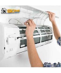 Global house บริการล้างเครื่องปรับอากาศแบบติดผนัง ขนาด 9000 - 18000 BTU