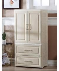 SAKU ตู้ลิ้นชักพลาสติก 3 ชั้น  ขนาด 57×40×131ซม.   DHHZ015  สีขาว