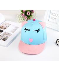 USUPSO หมวกเด็กแมวน้อย - สีฟ้า