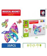 Sanook&Toys ของเล่นเสริมทักษะ Magnetic 78001 สีขาว