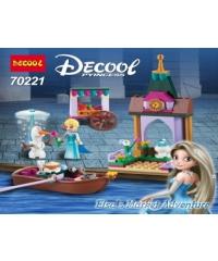 DECOOL ชุดของเล่น Elsa market 70221