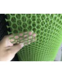 POLLO ตาข่ายพลาสติกหกเหลี่ยม 20 มิล 30x.9 ม. PQS-AY033-G สีเขียว
