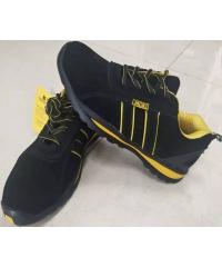 Protx รองเท้าเซฟตี้ #41 พื้นยางกันกระแทก  BA-318 สีดำ