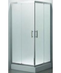 HERITAGE ฉากกั้นอาบน้ำแบบบานเลื่อนเข้ามุมฉาก ขนาด900x900x1850  PQS-PFL01