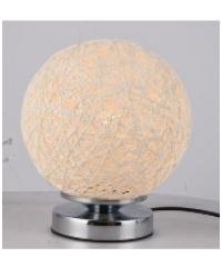 EILON โคมไฟตั้งโต๊ะ Fancy  MT60387-1  สีครีม
