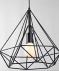 EILON โคมไฟแขวน Loft  MD70575-1S สีดำ