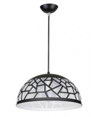 EILON โคมไฟแขวน Loft  SKD-P082 สีดำ