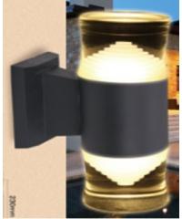 EILON โคมไฟผนังโมเดิร์น SZ-2664 กันน้ำ IP65 5W*2