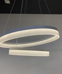 EILON โคมไฟแขวน โมเดิร์น 63W คูลไวท์ KDD7017 สีขาว