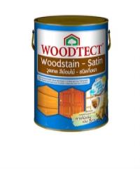 WOODTECT สีย้อมไม้ วูดเทค ชนิดกึ่งเงา WS-207