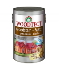 WOODTECT สีย้อมไม้ชนิดด้าน WM604 สีโครเมี่ยม