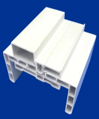 Masterwood วงกบ VINYL 10-12.5   แบบมีซับV3 80x200 สีขาว