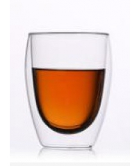 AILO แก้วใสสองชั้น Lamayon 350ML.  GXY002