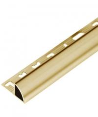 MAC คิ้วอลูมิเนียมแบบโค้ง 10 มม. ยาว 2 เมตร.   DAT009 Gold