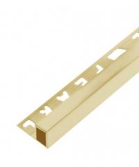MAC คิ้วอลูมิเนียมแบบเหลี่ยม 8 มม. ยาว 2 เมตร.  DAT019 Gold