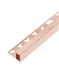 MAC คิ้วอลูมิเนียมแบบเหลี่ยม 8 มม. ยาว 2 เมตร.   DAT020 Rose gold