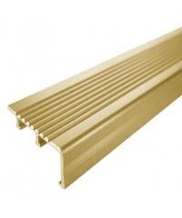 MAC จมูกบันไดอลูมิเนียม หน้ากว้าง 40 มม. ยาว 2 เมตร   DAT029 Gold