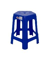FREEZETO เก้าอี้ไฟว์สตาร์ (5ขา) FT-254/B สีน้ำเงิน
