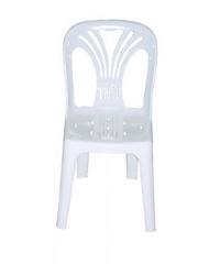 FREEZETO เก้าอี้พนักพิงหยก  FT-220/A สีขาว