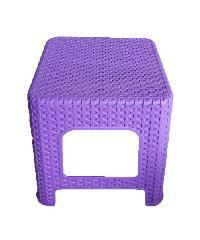 FREEZETO เก้าอี้มินิแบมบู  FT-253  สีม่วง