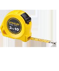 STANLEY ตลับเมตรสทัฟเคส 3ม/10ฟุต X13มม STHT30504-830 สีเหลือง