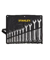STANLEY ชุดประแจแหวนข้าง ปากตาย 12 ชิ้น STMT80943-8