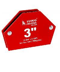 SUMO แม่เหล็กฉาก 6 เหลี่ยม ขนาด 3 3/4 MW-25H  แดง