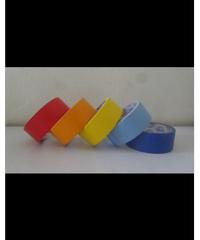 OHO เทปกระดาษกาวย่นสี 36มม.x15หลา GF-MC หลากหลายสี เช่น แดง เหลือง ส้ม