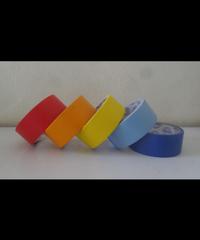 OHO เทปกระดาษกาวย่นสี 24มม.x15หลา GF-MC หลากหลายสี เช่น แดง เหลีอง ส้ม