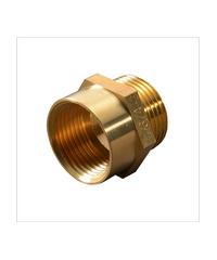 PP ข้อต่อตรง(ทองเหลือง) ตัวผู้-ตัวเมีย 1/2 นิ้ว 300493 ทองเหลือง