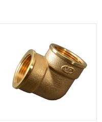 PP ข้องอ(ทองเหลือง) ตัวเมีย-ตัวเมีย 1/2 นิ้ว 300530 ทองเหลือง