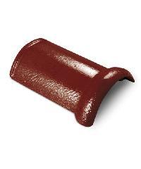 ตราเพชร ครอบสันโค้ง ขนาด 20.5x33 ซม. สีแดงชบา CTเพชร รุ่น แกรนออนด้า